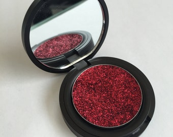 Burlesque Red Pressed Glitter