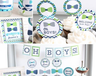 Baby Shower Boy Themes ~ Baby shower decor etsy