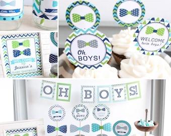 Twin Boys Baby Shower ...