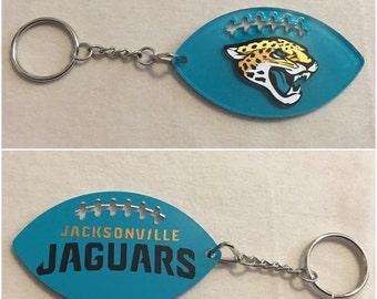 Jacksonville Jaguars Football Acrylic Keychain