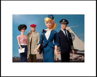 ANY 10 x 15 Barbie photo with 16 x 20 white mat