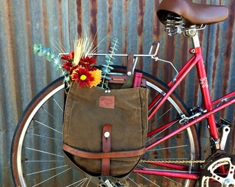Vintage Swiss Army Breadbag Pannier (single)