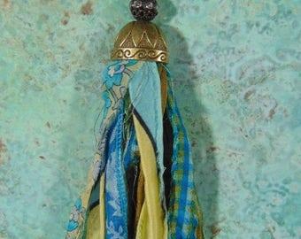 Recycled Sari Silk Necklace