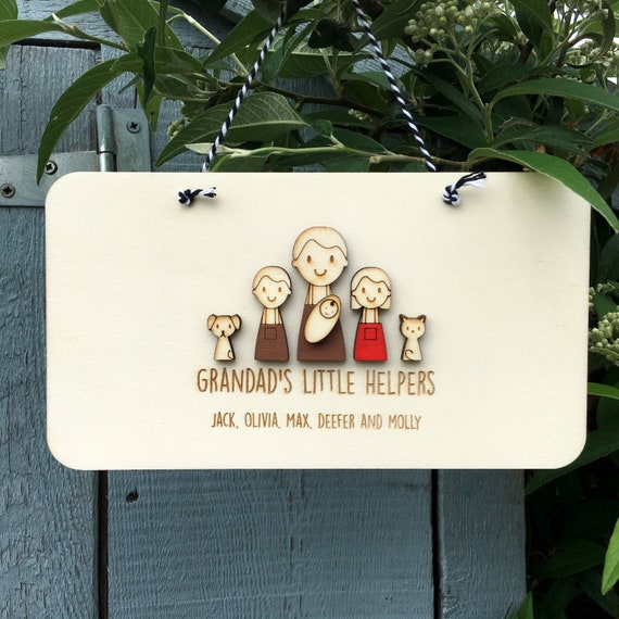 Grandad or Daddy's Keepsake - Gift for Grandad- Gift for Daddy - Fathers Day