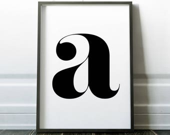 """Printable """"Letter A"""" 