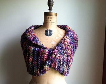 RESERVED for Jen. Chunky knit cowl