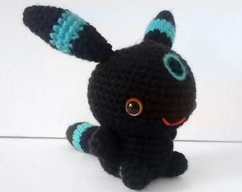 Shiny Umbreon Crochet Plushie