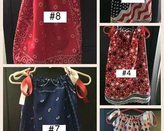 Bandana Dresses (Free Shipping & Pay No Sales Tax)