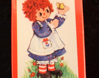 Vintage Raggedy Ann Miniature Playing Cards