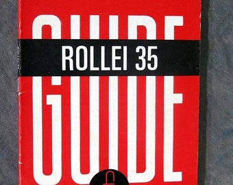 BTS Rollei 35, 35B & 35C Focal Guide Camera Book, More Rollei Items Listed