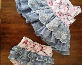 Floral Ruffle Baby Dress