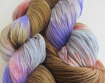 Hand Dyed Sock Yarn- Spring Bloom
