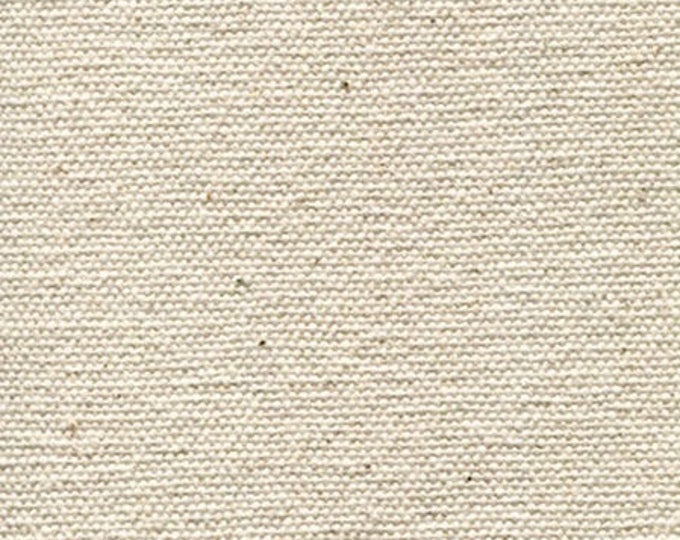 Heavy Certified ORGANIC Cotton Canvas Fabric MULTIPURPOSE Natural 14 oz Duck Cloth