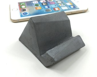 Concrete iPhone stand/iPhone Docking/iPad mini stand