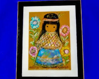 Little Cocopah Indian Girl