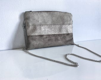 """Evening bag / wedding """"Beige"""" / / pouch / for her / Christmas gift / birthday gift"""