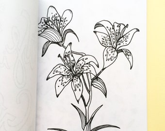 The Flourish Colouring Book