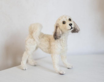 Needle Felted Dog, Personalised, Custom Dog