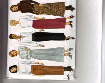 Butterick 5209 uncut size 12, 14 and 16  classic skirt pattern
