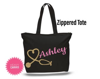 Personalized Nurse Gift, Nursing Student Gift, Stethoscope Bag, Gifts for Nurses