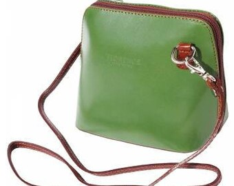 Italian made soft leather handbag.