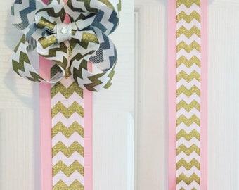Bow holder, hair bow organizer, Hair Bow Holder, Clip Holder, Hanging Bow Holder, Custom Bow, Hair bows, girls bows