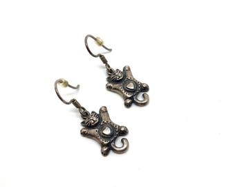 Vintage Cat Earrings, c. 1950-1960