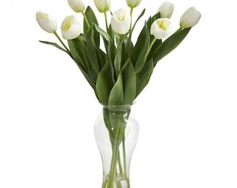 """24"""" Tulips w/Vase"""