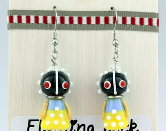 Ndebele doll earrings
