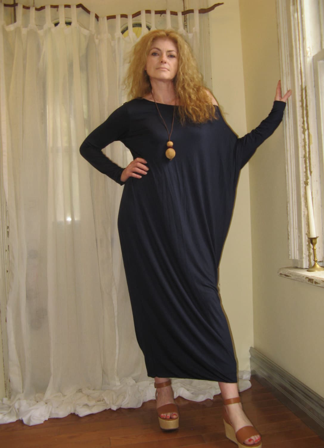 Asymmetric boho dress off shoulder dress long loose maxi dress zoom ombrellifo Image collections