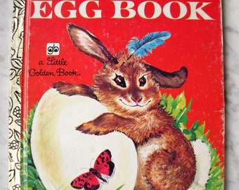 Vintage The Golden Egg Book 1979 478-1 with Disney Advertising Pages
