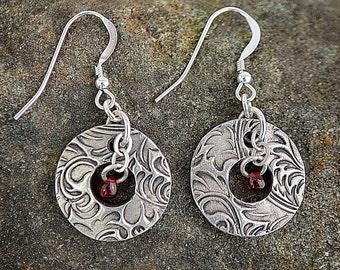 Precious Metal Clay (PMC) Earrings
