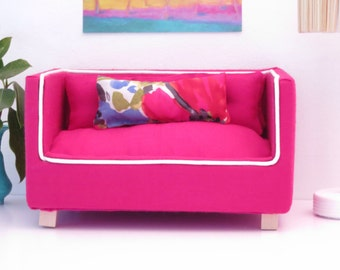 Cherry Red Barbie Sofa
