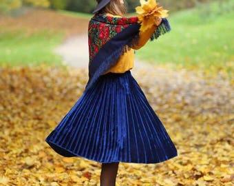 pleated skirt/ skirt/ modern skirt/ fashionable skirt/ different color skirt