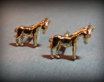 Vintage Donkey Cuff Links or Political Cuff Links