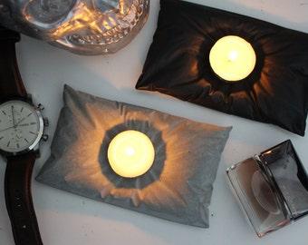 PILO || Concrete Pillow, 1 Tea Light Holder