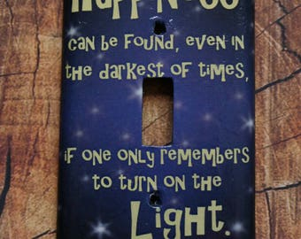 Harry Potter Light Switch Cover, Single Light Switch,  Double Light Switch