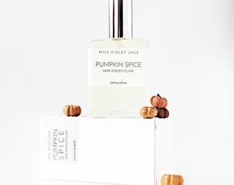 Pumpkin Spice Body Mist | Hair Perfume, Pumpkin Perfume | Fall Autumn Body Mist | 100% natural and vegan