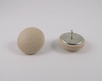 leatherette mastik 20mm-6 covered buttons