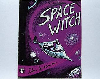Space Witch by Don Freeman - Children's Book - 1979 Halloween Classic - Zoom Broom