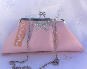 Special Occasion Silk Clutch Purse/Bridesmaid Clutch Purse/Personalised Clutch Purse/Wedding Clutch