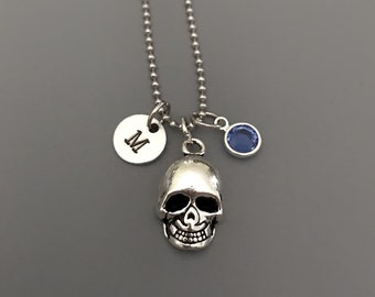 Skull Necklace-Skull Jewelry