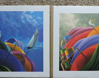 2 Claude Théberge Art Prints - La Vigie & The Three Veils