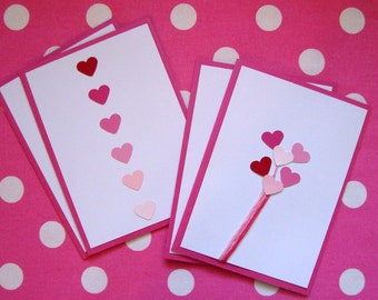 Valentine Cards- Hearts