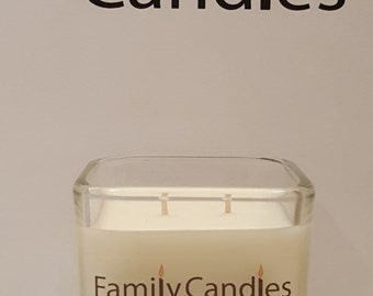 Family Candles - Sweet Lilac 7.5 oz Double WIcked Soy Candle