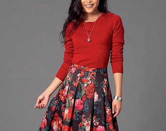 McCall's Pattern M7253 Misses' Skirts