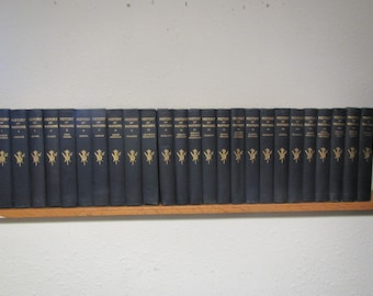 1916 HISTORY of NATIONS 25 volume set . illustrated , reference books, history books, nation history
