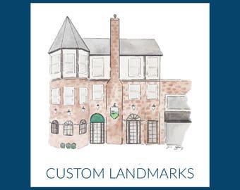 Custom Landmarks