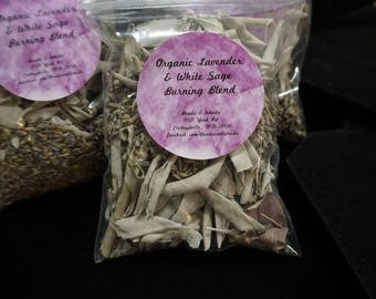 French Lavender & White Sage Burning Blend