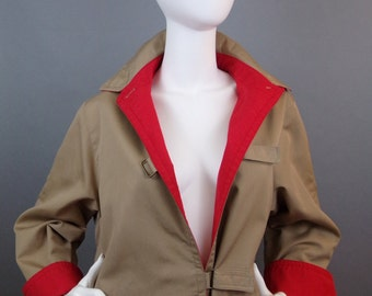 Sale Vintage Bonnie Cashin for Russel Taylor weatherwear trench coat